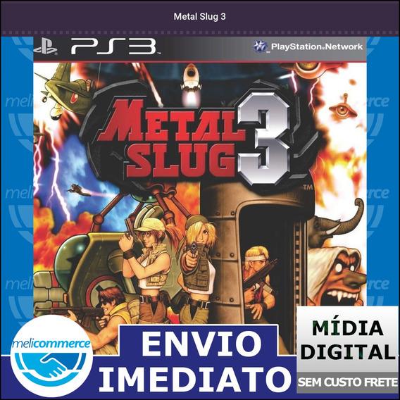 Metal Slug 3 Digital Psn Envio Imediato