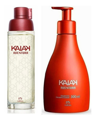Perfume Kaiak Aventura + Crema  Corpora - mL a $436