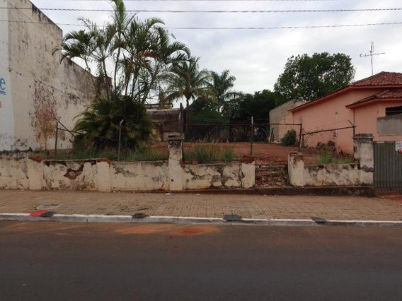 Terreno Comercial À Venda, Centro, Jaú. - Te0068