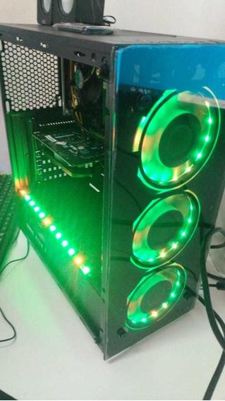 Pc Gamer I3 9100f + H311 C Ddr3 8gb + Gtx 1050 Asus Ti+ Ssd