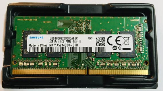 Memoria Ram Samsung 4gb Ddr4
