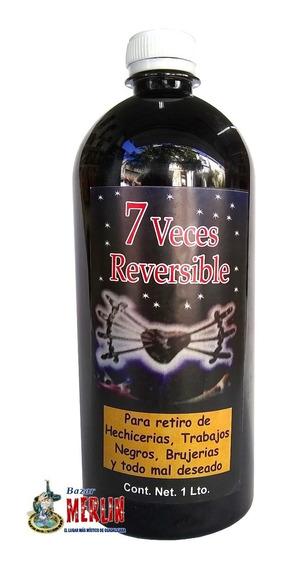 Loción 7 Veces Reversible - Retira Hechicería Y Brujería