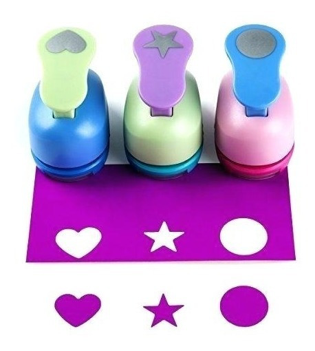 5 Sacabocados Perforadoras De 25mm Candybar Troqueladores