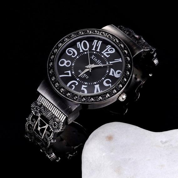 Promoção Relógio Feminino Bracelete Pronta Entrega Barato