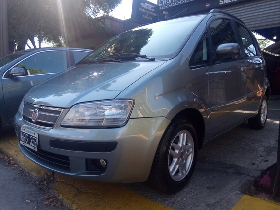 Fiat Idea 1.4 Elx Mp3 2008 Con 129.000km. Tomamos Dolar Blue