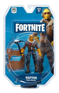Fortnite Figura De Raptor 10cm Solo Mode Epic Games