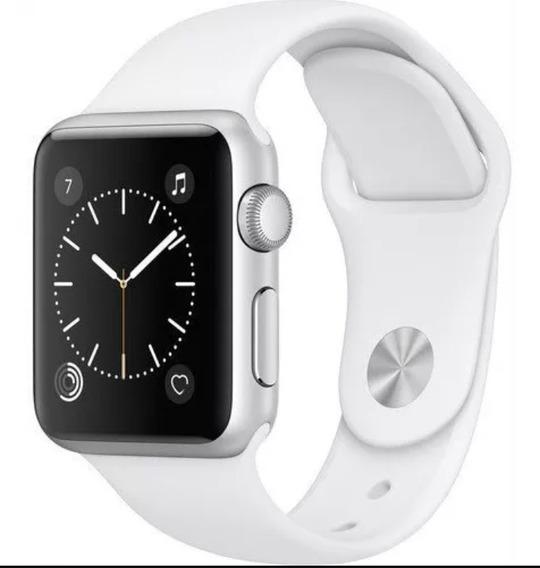 Apple Reloj Serie 1Smartwatch 42mm CasoAluminio Plata