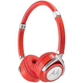 Fone De Ouvido Motorola Pulse 2 Com Microfone - Vermelho