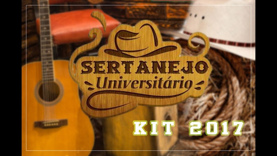Kit 250 Músicas Sertanejo Universitário 2017