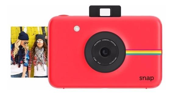 Câmera Polaroid Snap Instant Print Digital 10mp Vermelha