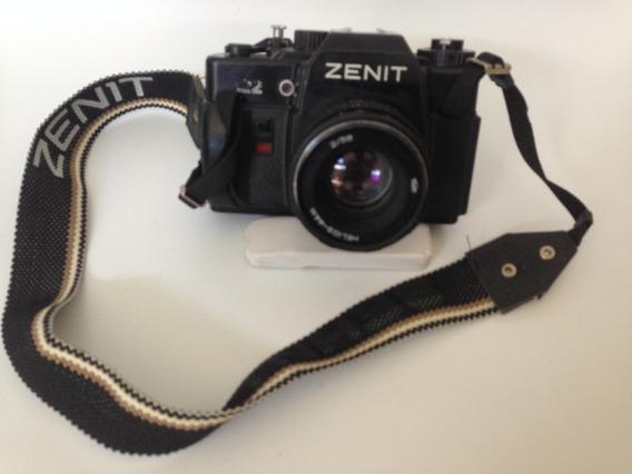 Antiga Maquina Camera Fotografica Zenit 122
