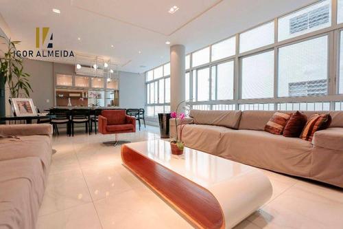Apartamento Com 3 Dorms À Venda, 208 M² Por R$ 2.235.000 - Higienópolis - São Paulo/sp - Ap47635