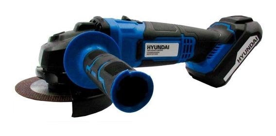 Amoladora A Batería Hyundai 115mm 20v