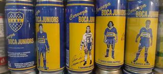 Lata Futbol Cerveza Boca Junior C/u