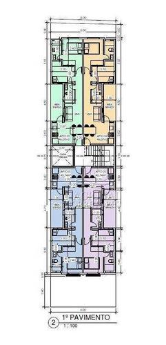 Cobertura À Venda, 92 M² Por R$ 320.000,00 - Parque Das Nações - Santo André/sp - Co4651