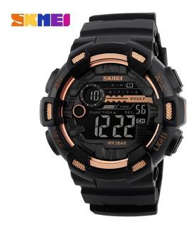 Reloj Pulsera Digital Crono Sumergible Alarma Skmei