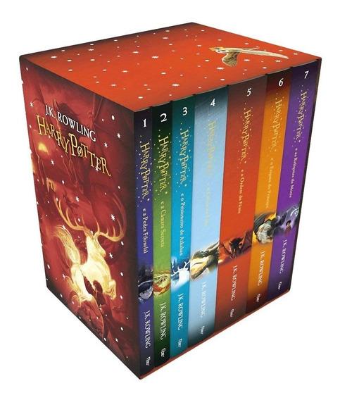 Harry Potter Caixa Premium Amazon + Brindes + Frete Grátis