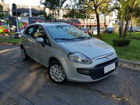 Fiat Punto 1.4 Attractive 2016 Baixo Km Muito Novo Prata