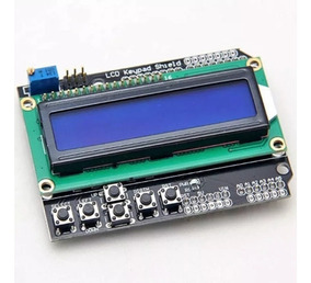 4 Módulo Shield Display Lcd 1602 16x02 Keypad - Arduino Pic