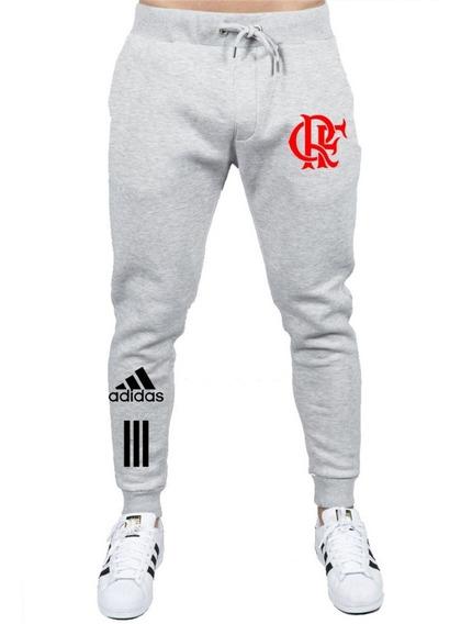Calça Agasalho Flamengo Rubro Negro Nação Futebol Abrigo Fla