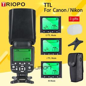 Flash Profissional Triopo Tr-988 Hss + Ttl Canon/nikon