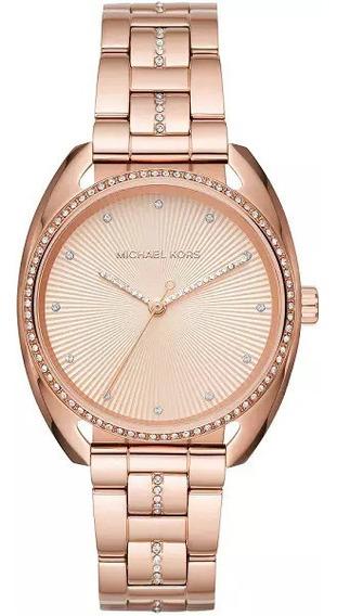 Relógio Mk3677 Rose Gold Original, Caixa, Manual E Garantia