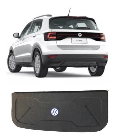 Bagagito Tampão Volkswagen T-cross 2020 Grafite Com Cordinha