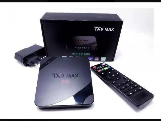 Smart Tv Box Tx9 Max 4gb Ram + 64gb + 5ghz + Original Cpu Z