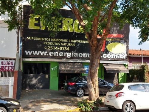 Casa Para Alugar, 120 M² Por R$ 2.700,00/mês - Vila Itapura - Campinas/sp - Ca0907