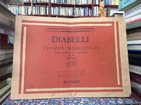 Trozos Melódicos Para Piano A 4 Manos De Diabelli Música