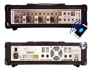 Consola Potenciada 120w Bluetooth Soundxtreme Sxm 4200 Cjf