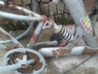 Bicy Con Suspencion ( Para Armar)
