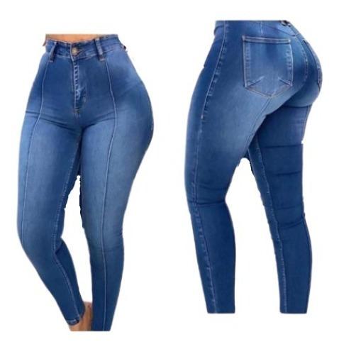 Jean Pantalones Mezclilla Dama Push Up Ropa Moda Juvenil Mercado Libre