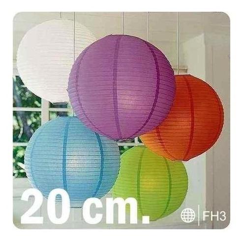 Imagen 1 de 6 de Globos Chinos Decoración Fiestas Hora Loca Eventos 20 Cm