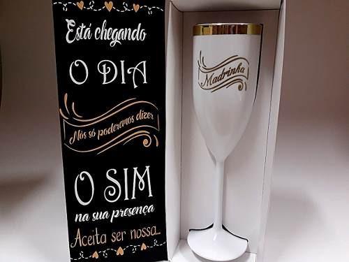 Convite Casamento Madrinha Padrinho Lembrancinha
