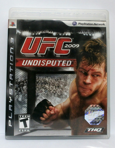 Ufc Undisputed 2009 Ps3 Mídia Física