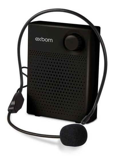 Mega Fone Bluetooth Com Headset 5w Multimidia - Exbom -