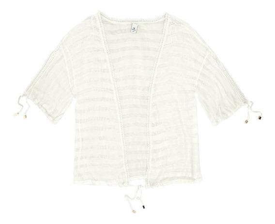 Kit Casaco Kimono Feminino Hering+ Top Cropped Barato