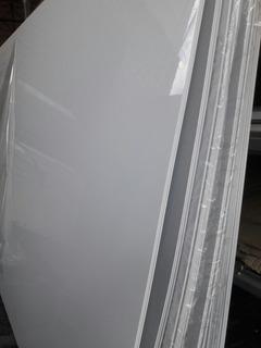 Placas Pai Alto Impacto Planchas De 2x1x2 Mm Blanco