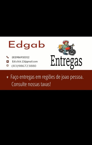 Imagem 1 de 1 de Motoboy Particular Entregas E Serviços.