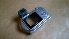 X21089081 Carcaça Gabinete Traseiro Câmera Sony Dsc-h2