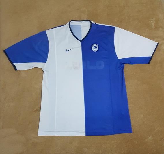 Gcr01 Camisa Oficial Hertha Berlim 2001/2002 Gg 79x56