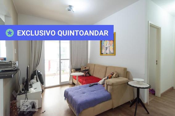 Apartamento No 5º Andar Mobiliado Com 2 Dormitórios E 2 Garagens - Id: 892945468 - 245468
