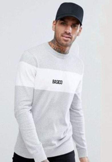 Franelas Long Sleeve Caballero Basico Clothing Combinados