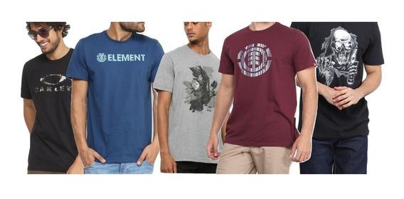 5 Camisa Camiseta Oakley Mcd Lost Tamanho Extra G1 G2 G3