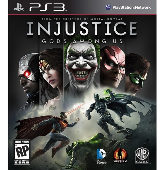 Jogo Injustice Gods Among Us Ps3 M. Fisica
