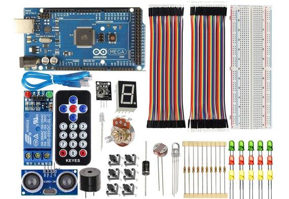 Kit Básico Com Arduino Mega R3 - Automação 25% Off 2019
