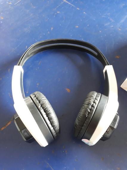 Fone De Ouvido Mp3 Headphone Bateria Recarregavel