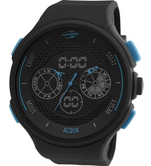 Relógio Mormaii Masculino Anadigi Aqua Mo160323al/8a Origina