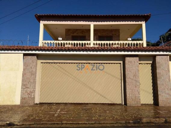 Sobrado Residencial À Venda, Vila Paulista, Rio Claro. - So0038